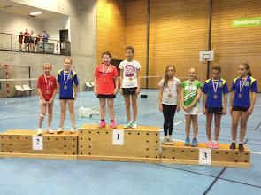 Photo: DD Benjamins Médaille de Bronze: Suzanne hey (avec Elise Marcher)