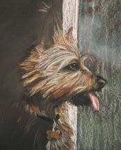 Photo: Pastel Drawing of my dog Jack 2008 Blog Post: http://createsharerepeat.blogspot.com/2010/09/no-excuses.html