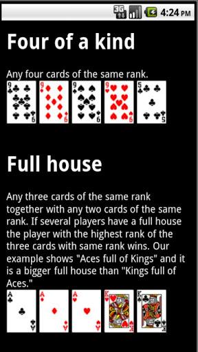 Poker Hands Trainer 3.0.4 screenshots 4
