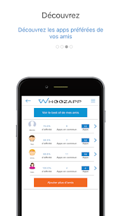 Whoozapp, partage d'apps- screenshot thumbnail