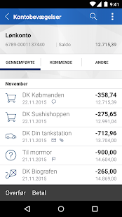 Nordfyns Banks Mobilbank- screenshot thumbnail