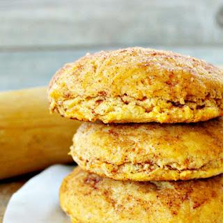 Cinnamon Sweet Potato Biscuits.