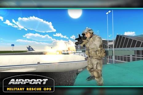 3D letiště Vojenský záchranný - náhled