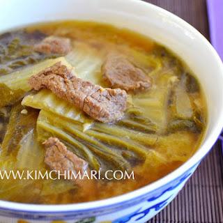 Cabbage Soybean Paste Soup (배추된장국 Baechu Doenjang Guk) Recipe