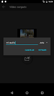 Extraer audio de vídeo Screenshot