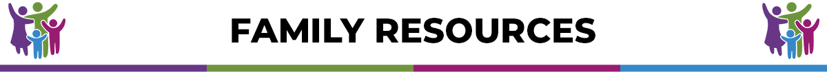 Family Resources banner
