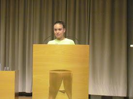Berta Rossell Aran, alumna de 2n d'ESO