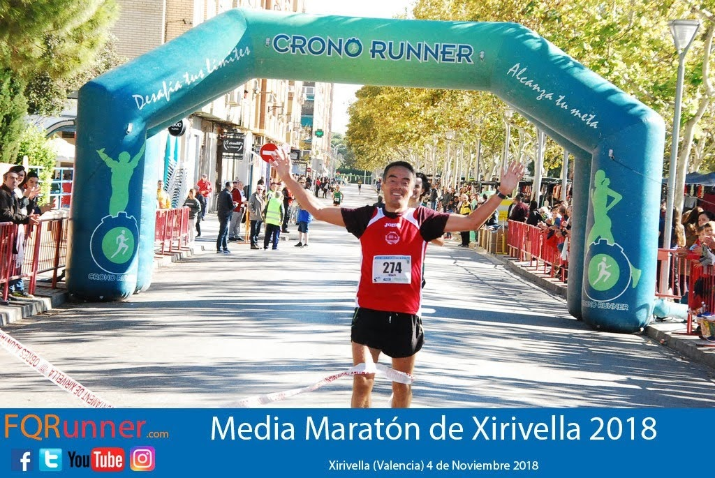 Javi Lozano Velasco del Atletismo Arroyo