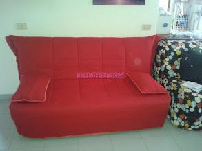 Photo: divano letto matrimoniale rosso