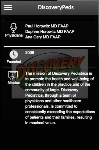 DiscoveryPeds- screenshot