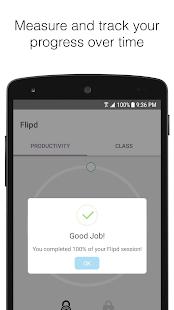 Flipd: Distraction blocker - náhled
