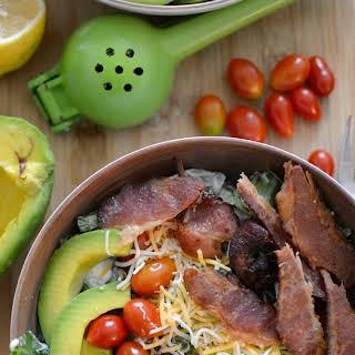 Clean Eating BLT Salad Bowl.