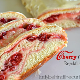 Cherry Cheesecake Breakfast Loaf
