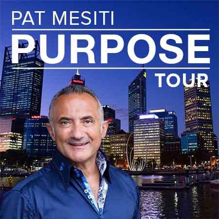 Pat Mesiti Purpose Tour Perth