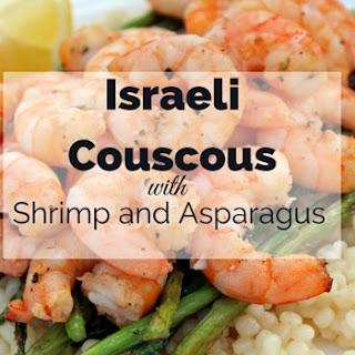 Israeli Couscous with Shrimp and Asparagus