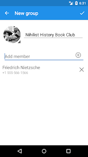 Signal Private Messenger- screenshot thumbnail