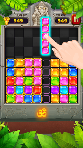 Block Puzzle u2013 Jewel Games in Temple 1.2.0 screenshots 2