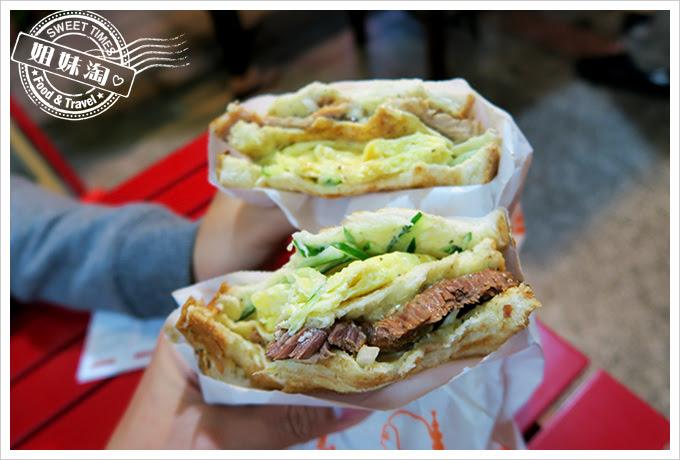 伯阿炭烤三明治古早味燒肉4