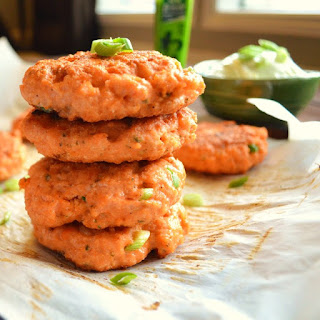 Spicy Salmon Cakes