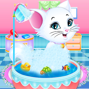 Fluffy Kitty Grooming - Kitty Care Salon