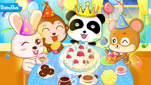 Baby Panda's Birthday Party  screenshots 1