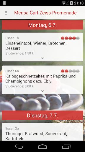 玩免費生活APP|下載Mensa Jena app不用錢|硬是要APP