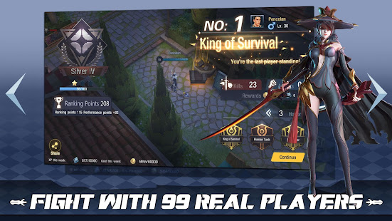 Game Survival Heroes - MOBA Battle Royale APK for Windows Phone