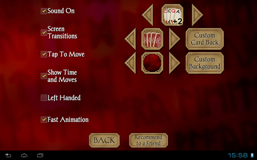 Solitaire Free screenshot 16