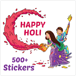 Holi Stickers All Indian Festival WAStickers 7.0
