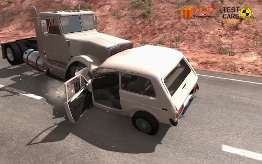 Car Crash Test NIVA  captures d'u00e9cran 8