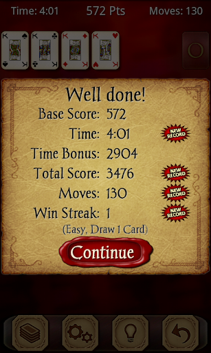 Solitaire Free screenshot 3