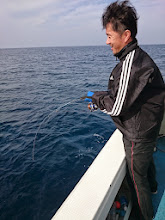 Photo: エサ釣りは好調!