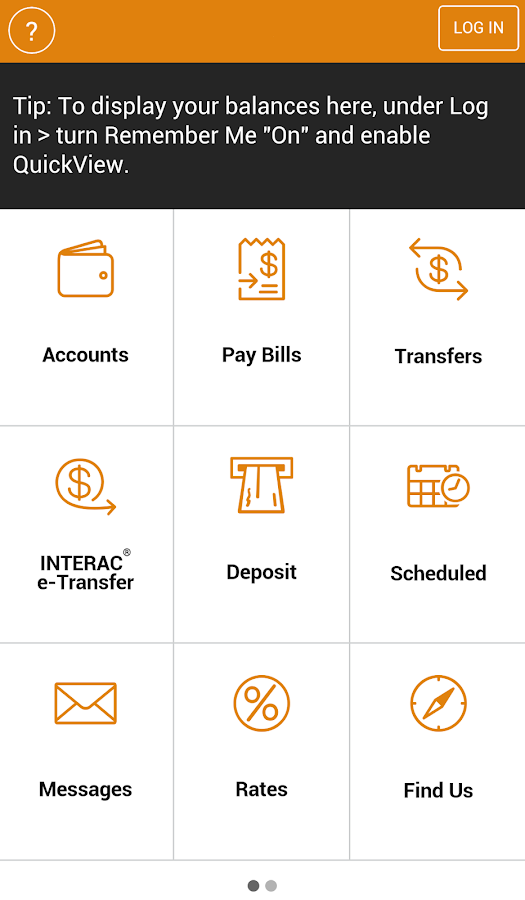 G&F Mobile Banking- screenshot