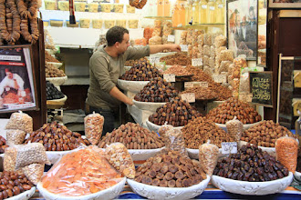 Photo: Dried fruits. Figs, dates, apricots, almonds. All delicious.