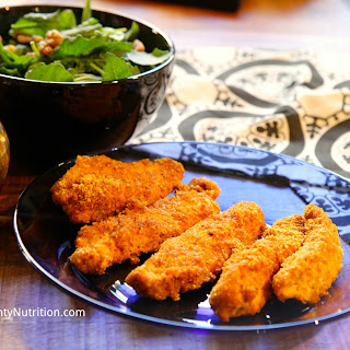 Paleo Chicken Fingers.