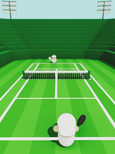 Little Tennis  captures d'u00e9cran 1