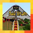 Spider Mega Roller Coaster. Map for MCPE APK