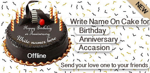 write name on cake birthday apps on google play