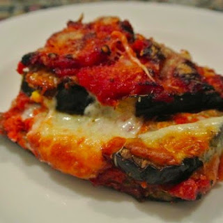 Baked Eggplant With Cheese