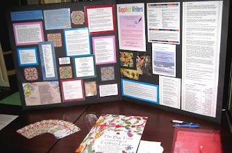 Photo: Sapphist Writers' display
