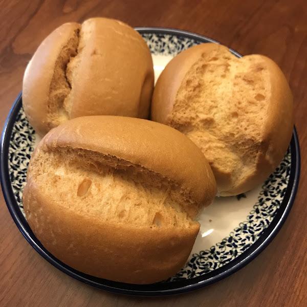 Dinner Rolls/ Hamburger Buns. Outside the Breadbox.