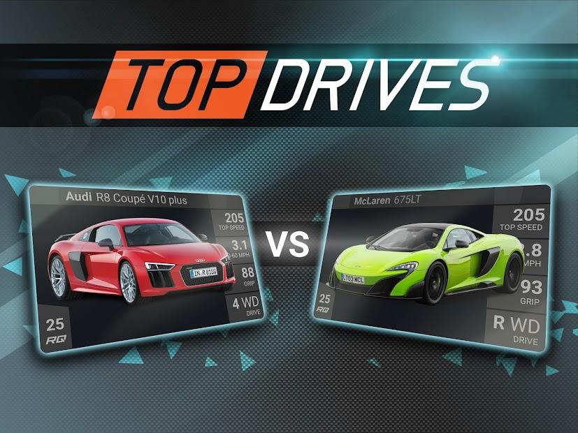 Top Drives – Car Cards Racing Android App Screenshot