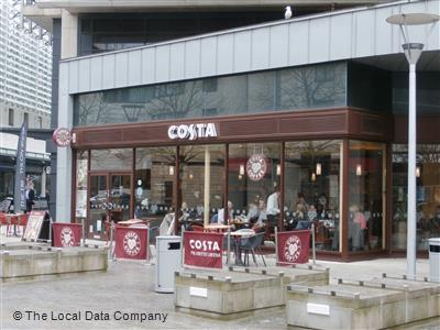 Costa On Cathedral Walk Coffee Shops In Harbourside
