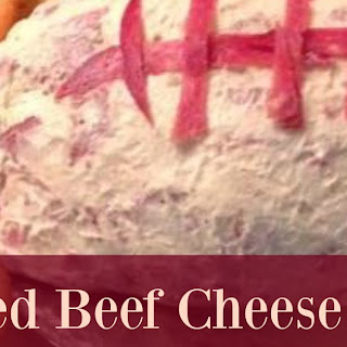 Dried Beef Cheese Ball.