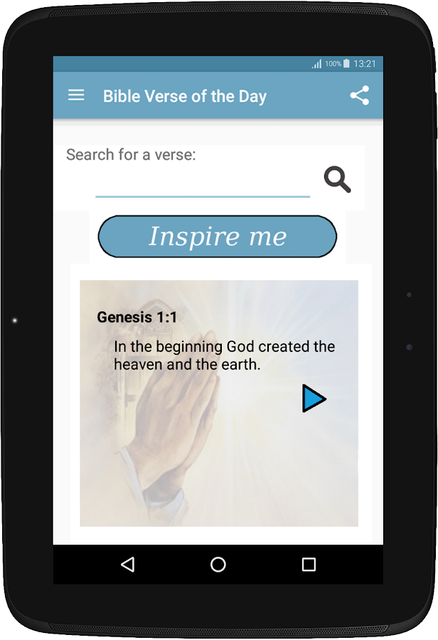 Bible Verse of the Day NIV- screenshot