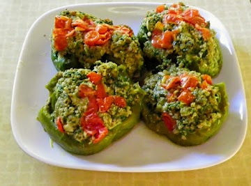 Italian Style Stuffed Peppers Recipe