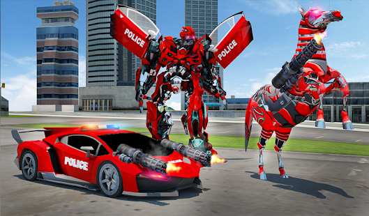 Download free US Police Multi Robot Transform: Wild Horse Games for PC on Windows and Mac apk screenshot 17