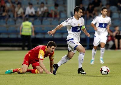 Henrikh Mkhitaryan mag nog wat langer in Rome blijven