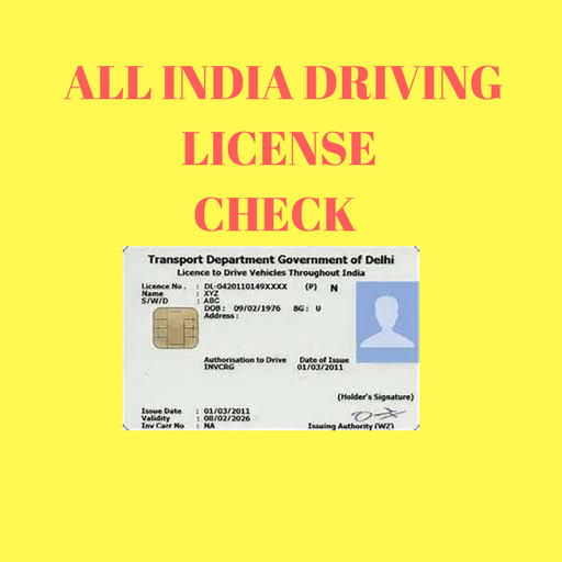 India Driving license check