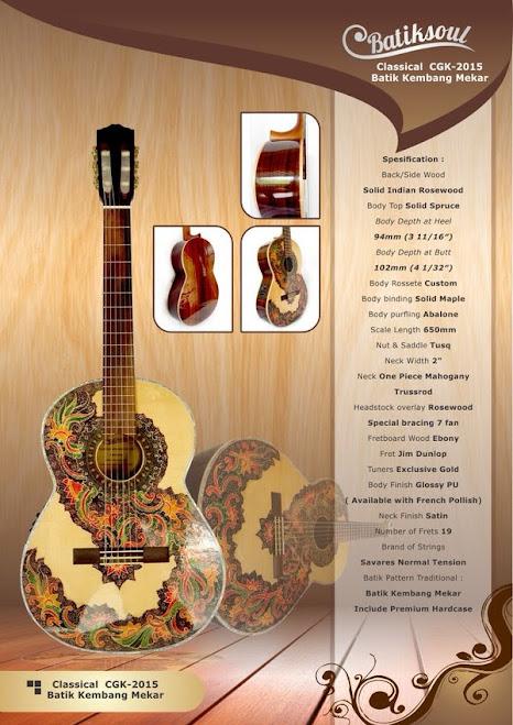 gitar batik